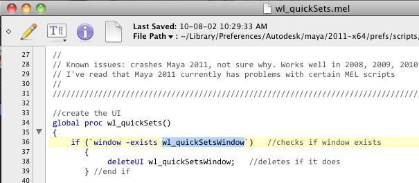 Polygons, Pixels & Paint — Dock any Maya UI script in Maya
