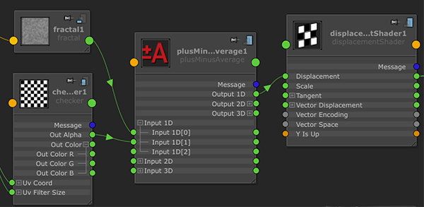 Polygons, Pixels & Paint — Mixing Displacement Maps in Any Maya Renderer